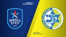 Anadolu Efes Istanbul - Maccabi FOX Tel Aviv Highlights Turkish Airlines EuroLeague RS Round 8