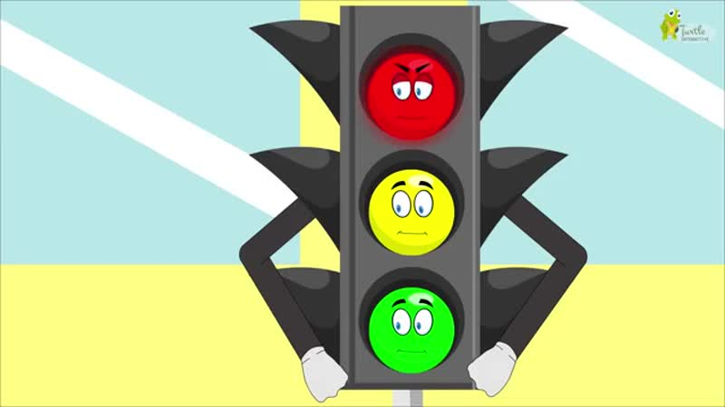 Traffic Lights Song - Vehicles Song - Red Light what do you say