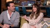 Dakota Johnson &amp Jon Hamm Flirt During BAD TIMES AT THE EL ROYALE Interview