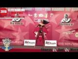 IFBB Elite Ranking Bikini Fitness category currently in the third place: Xenia Sheveleva.
