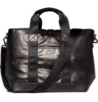 Ralph Lauren Men Leather Messenger Tote bag.