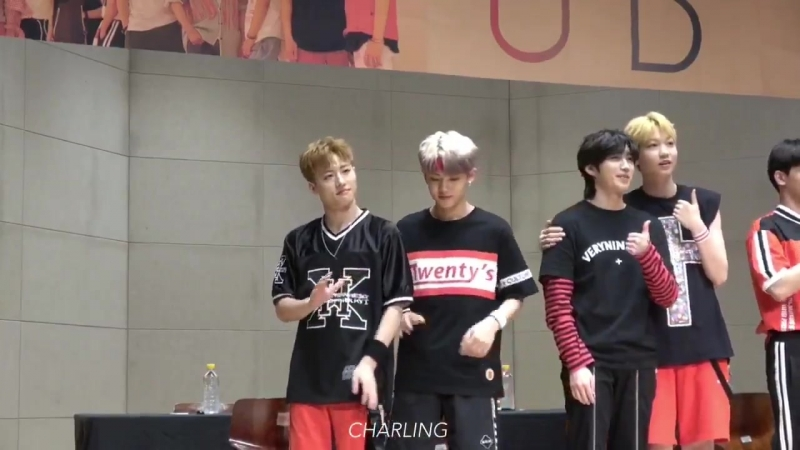 FANCAM | 14.07.18 | Chan @ UNB 4th fansign Mokdong Youth Training Center