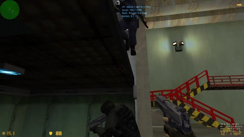 [Counter-Strike 1.6] Багаем лифт.