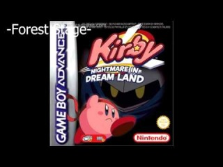Kirby: Nightmare in Dreamland - Forest Stage Extended (High-Quality, No Fuzz)