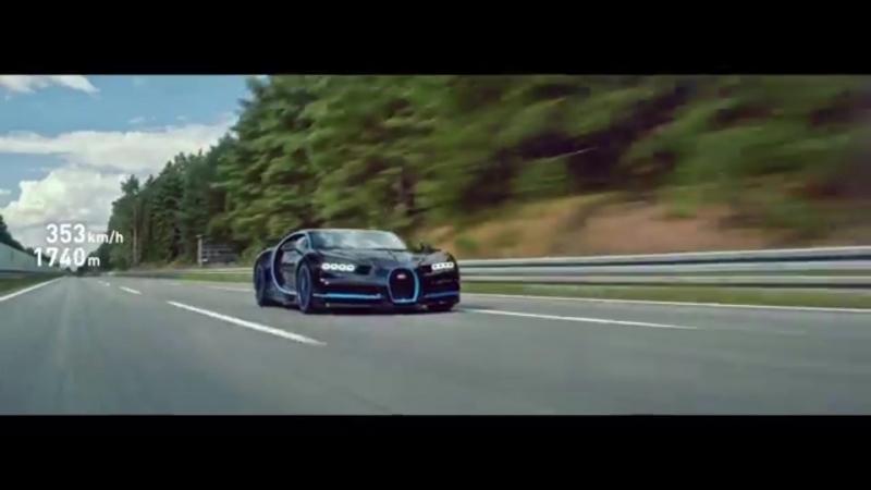 разгон 0-400 Bugatti Chiron 4k video » Freewka.com - Смотреть онлайн в хорощем качестве