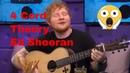 Ed Sheeran Proves The 'Four Chord Theory'