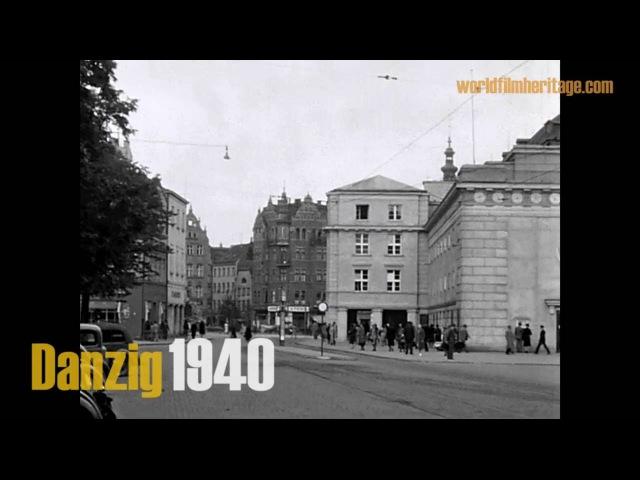 Danzig 1940 - Gdańsk - Gdańsk-Wrzeszcz - Langfuhr