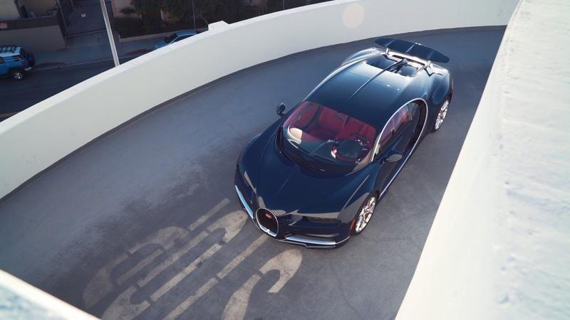 261 MPH in a Bugatti Chiron - JR Hildebrand | Race Service