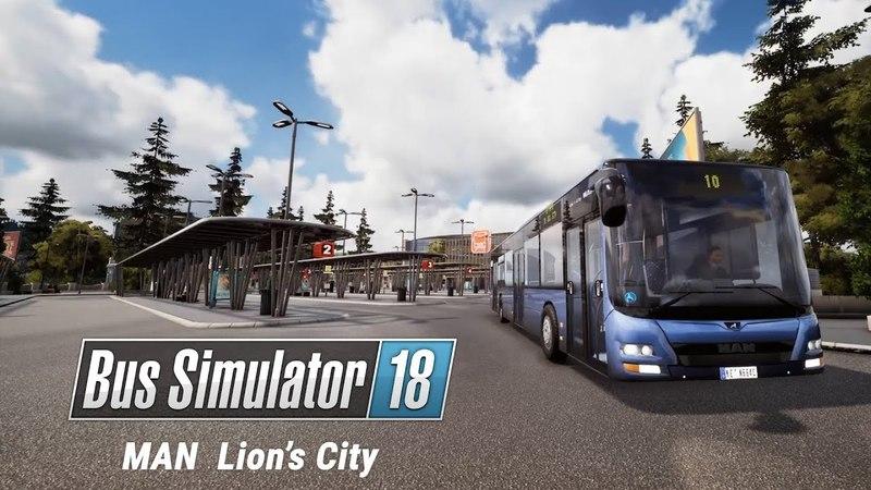 Bus Simulator 18: MAN Lion's City bus (EN)