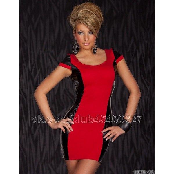 Красное платье в контакте