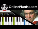 Ludwig van Beethoven - Moonlight Sonata - Piano Tutorial