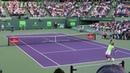 Rafael Nadal v. Philipp Kohlschreiber (Court Level View) Miami Open 2017 R3