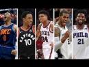 NBA 2nd Team All NBA Best Plays From Westbrook DeRozan Antetokounmpo Aldridge Embiid