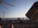 низко пошёл.., к дождю наверное Адлер, пляж Огонёк 2018