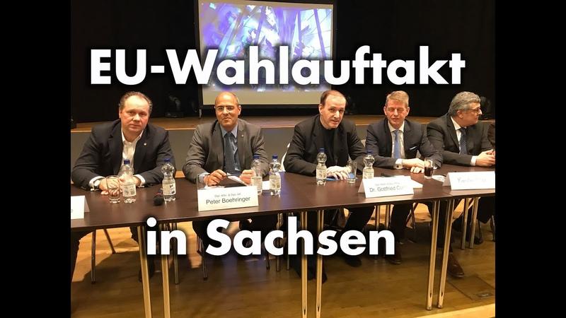 EU-Wahlauftakt in Sachsen   Dr. Gottfried Curio