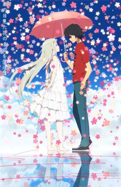 Аниме романтика 16