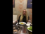 Юлиана Третьяк рекомендует всем отведать наше фирменное блюдо