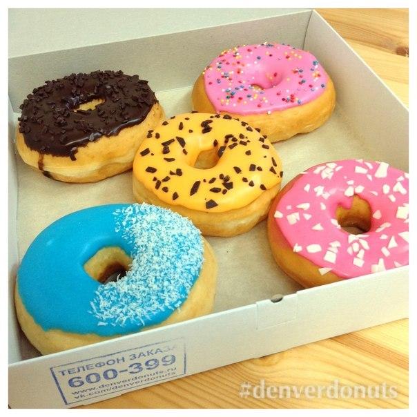 весёлые пончики фото