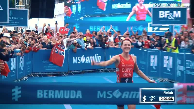 Флора Даффи финиширует на Бермудах