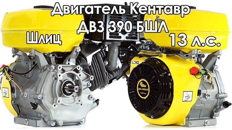 Бензиновый двигатель Кентавр ДВЗ 390 БШЛ (13 л.с.)