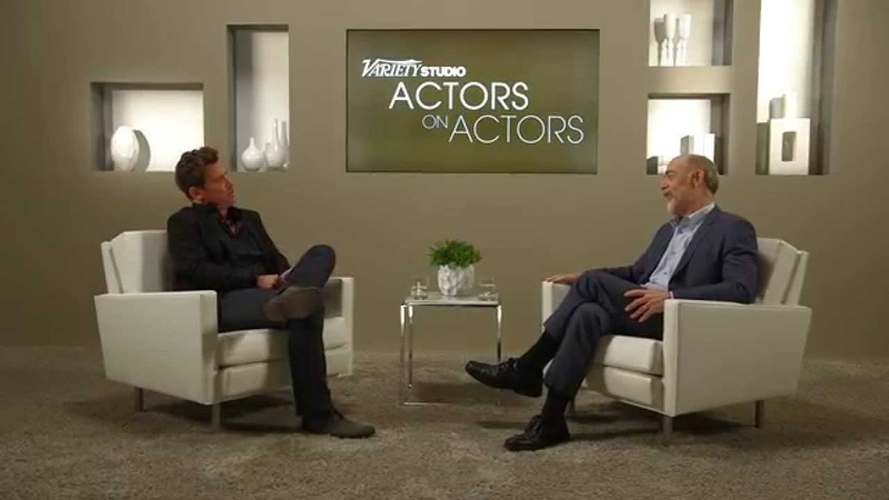 Josh Brolin JK Simmons at the Variety Studio Actors on Actors presented by Samsung Galaxy