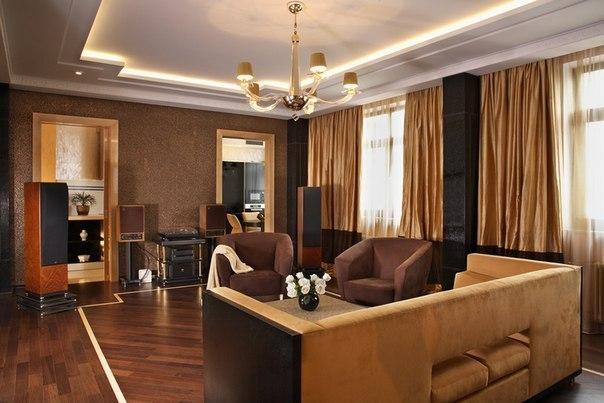 Квартира в стиле Ар-Деко площадью 120 кв.м.