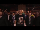 Here comes Usyk Will he be lifting the Ali Trophy tonight