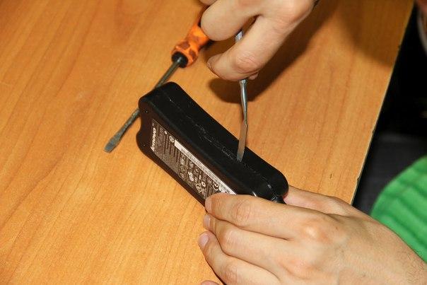 Своими руками ремонт блока питания для ноутбука