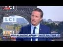 Nicolas Dupont Aignan invité de la matinale LCI