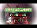CHRISTMAS ROOM MAKEOVER VLOGMAS DAY 1