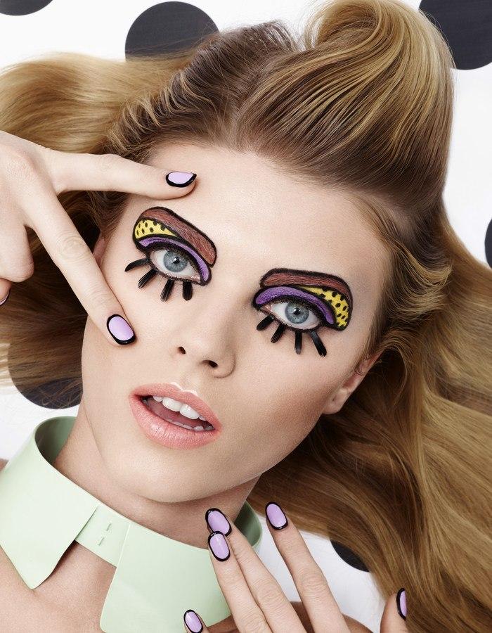 Pop Art Makeup Ideas