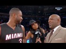 Gabrielle Union videobombs Dwyane Wade Good for an old geezer - Miami Heat at New York Knicks