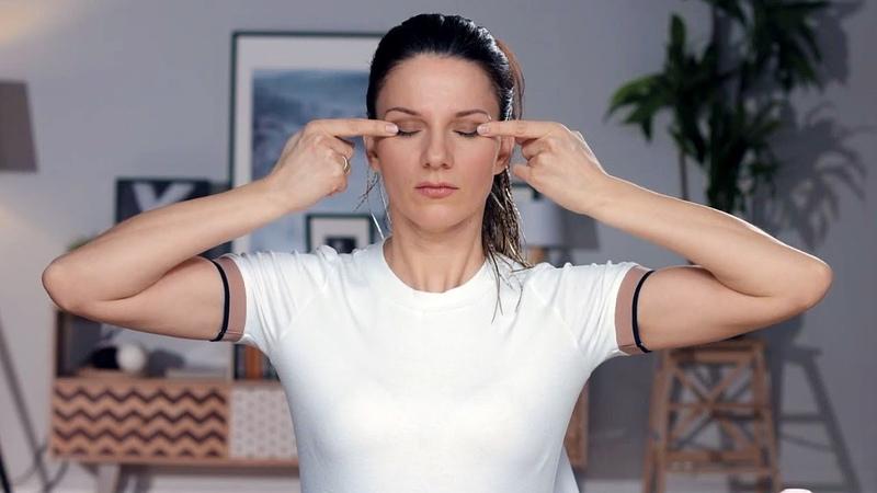 Упражнения Шиацу, которые сотрут «гусиные лапки» вокруг глаз