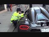 Police vs The Arab Supercars in London