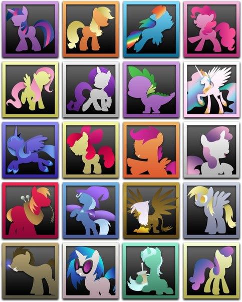 Винкс аватарки +иконки маленькие пони