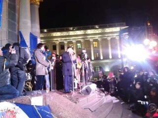 #Євромайдан 29.11.2013 Виступ Олега Тягнибока