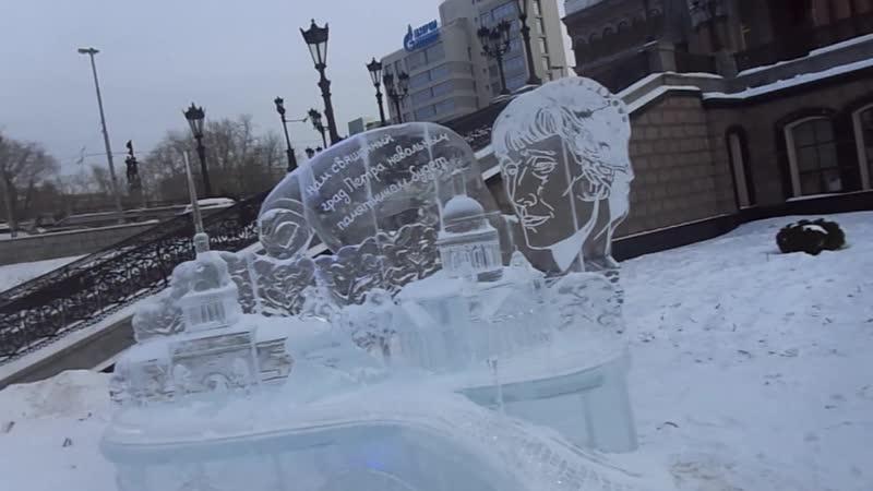 Ледовые скульптуры-3.