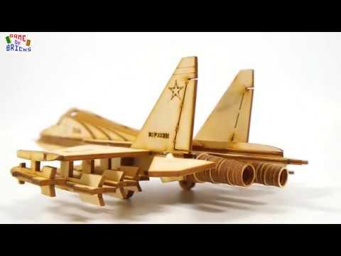 Российский истребитель СУ-30 - 3D puzzle от Lemmo