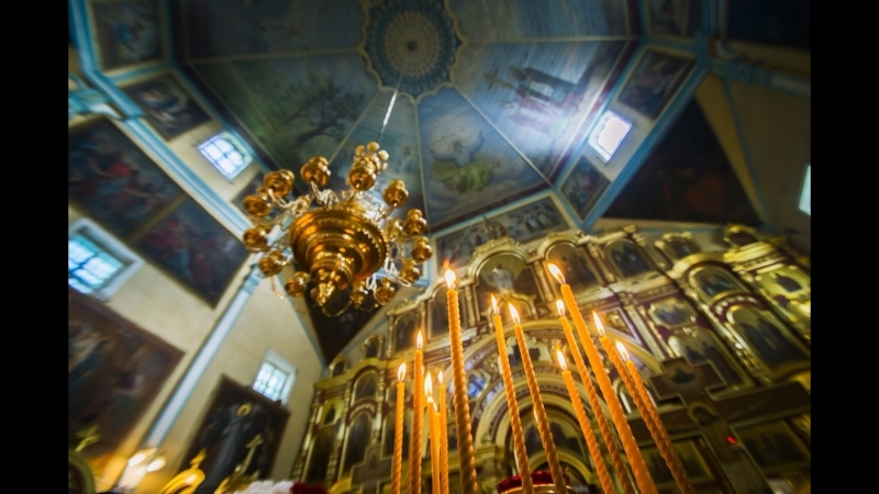 Крестный ход в день чествования великомученика и целителя Пантелеимона (09.08.18)