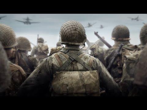 Широко шагая до финала Call of Duty WWII on PS4