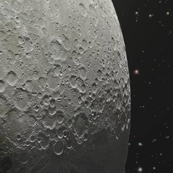 Детальное изображение Луны