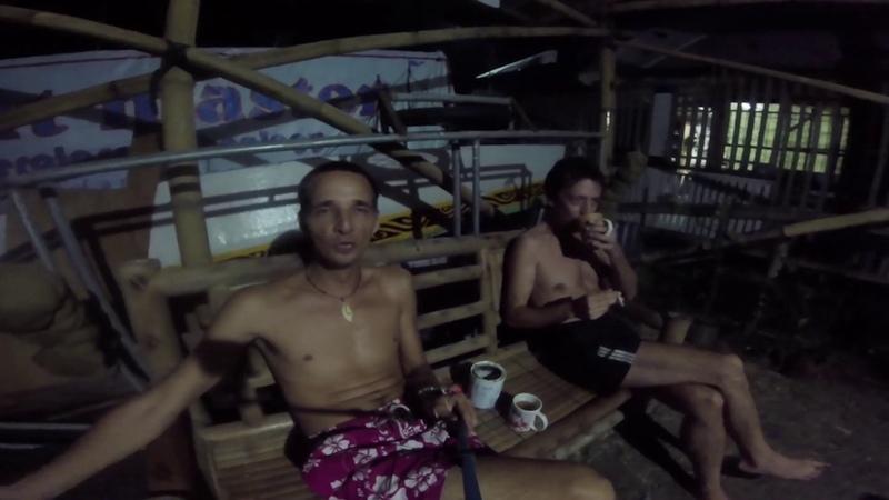 Филиппины про Миху и каноэ ))