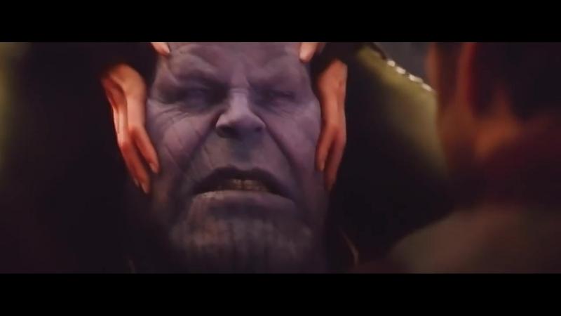 Мстители- Война бесконечности - Битва Против Таноса