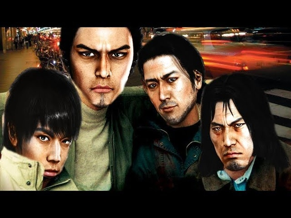 Yakuza 4 Opening but music replased by Streets of broken glasses intro