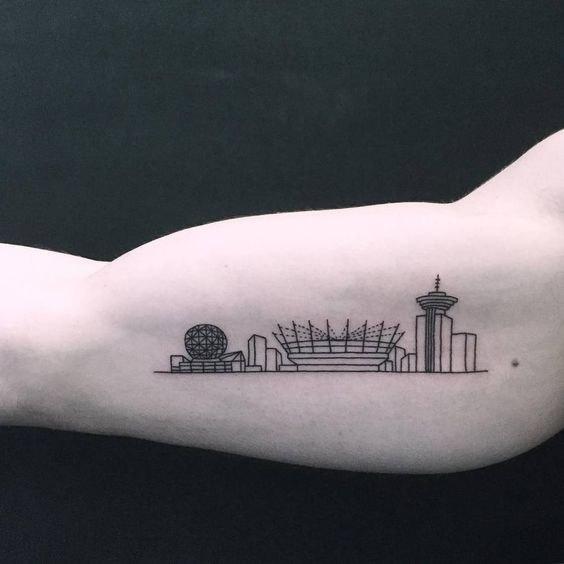 Архитектурное тату