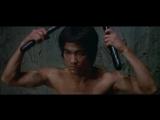 """Брюс Ли. Знаменитая сцена с нунчаками из фильма _""""Выход Дракона_"""" 1973 года."""