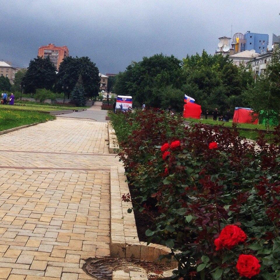 lFux0Ob4L60 Донецк радостно встречает освободителей