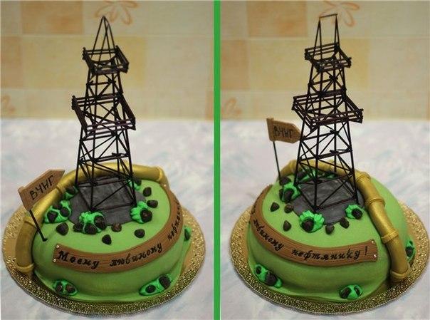торты на день нефтяника фото