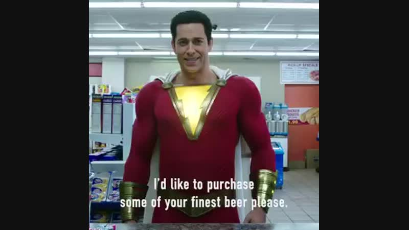 Check out another sneak peek of SHAZAM - in theaters April 5.