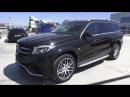 2016 Mercedes-Benz GLS 63 AMG X166. Start Up, Engine, and In Depth Tour.